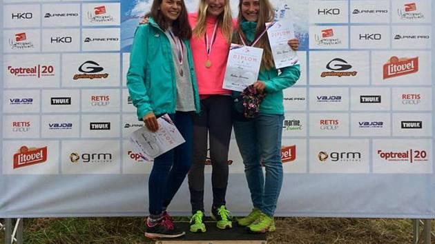 Klára Hricová s velkým náskokem vyhrála.
