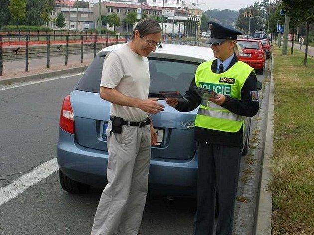 Policisté odměňovali řidiče