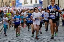 Rodinný běh v rámci olomouckého půlmaratonu