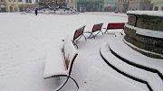 Zasněžená Olomouc 28. ledna 2019