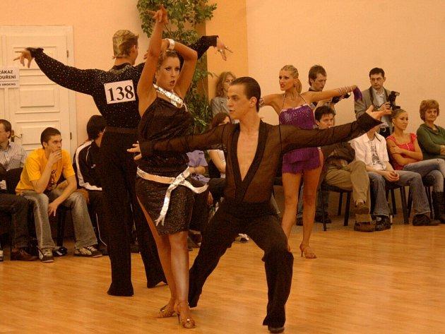 V rámci tanečního festivalu se uskutečnilo také soutěžní klání v latinskoamerických tancích.