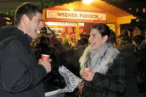 Vánoční trhy na Horním náměstí v Olomouci