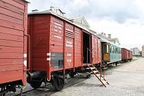 Vlak Lustig přivezl ve vagónech podobných těm, v nichž byli v transportech převáženi lidé do koncentračních táborů, do Olomouce výstavu, filmy a divadelní představení Modlitba pro Kateřinu Horovitzovou.