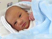 Mikuláš Bílý, Doloplazy, narozen 9. února v Olomouci, míra 48 cm, váha 3120 g