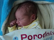 Martin Žilka, Babice, narozen 19. února, míra 51 cm, váha 2880 g