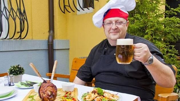 Kuchař restaurace Bělecký mlýn
