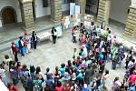 Vyhlášení výsledků třetího ročníku soutěže Hranice očima dětí. Foto: Deník/Pavel Mašlaň