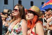 Návštěvníci festivalu si užili slunce i skvělé kapely.