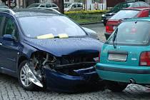 Srážka dvou aut na třídě Svobody