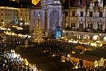 Rozsvícení vánočního stromu v Olomouci - 22. 11. 2019
