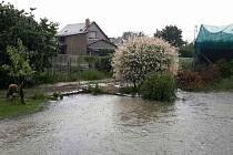 Následky bouřky a přívalového deště v Olomouckém kraji 13. 6. 2019