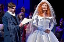 Opera Lucia di Lammermoor na scéně Moravského divadla