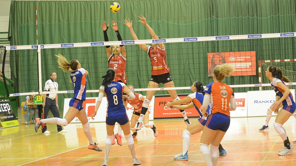 CEV Cup: VK UP Olomouc vs. Stuttgart