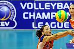 Olomoucké volejbalistky jsou blízko účasti v elitní evropské soutěži Champion League. Ilustrační foto
