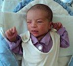 Karel Šín, Ruda, narozen 13. září ve Šternberku, míra 49 cm, váha 3190 g