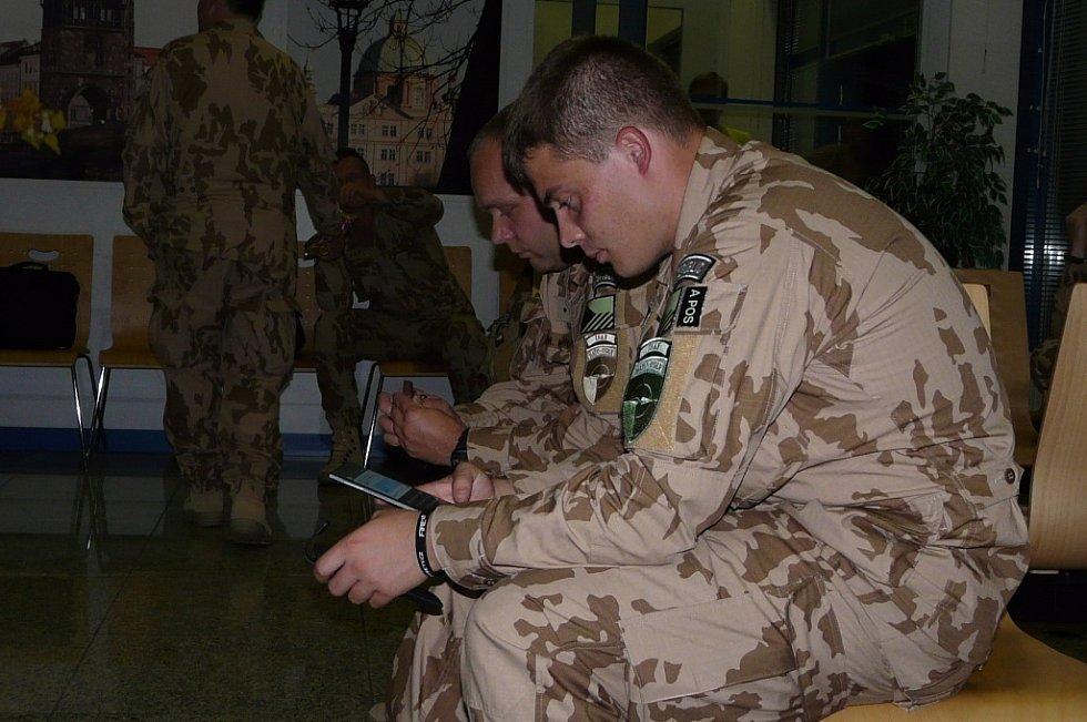 Odlet vojáků z Přáslavic do Afghánistánu