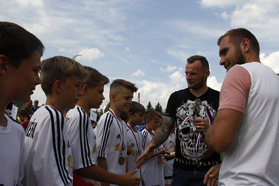 Krajské finále McDonald's Cupu v Olomouci. Vítězové ze ZŠ Heyrovského.