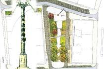 Územní studie proměny Kollárova náměstí počítá i se sloupem k poctě Václavu Renderovi