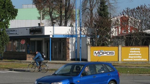 Vstup do areál MOPOSu v Hejčíně