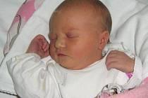 Adéla Rumianová, Hranice, narozena 12. ledna v Olomouci, míra 53 cm, váha 3680 g