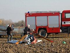 Smrtelná nehoda vrtulníku