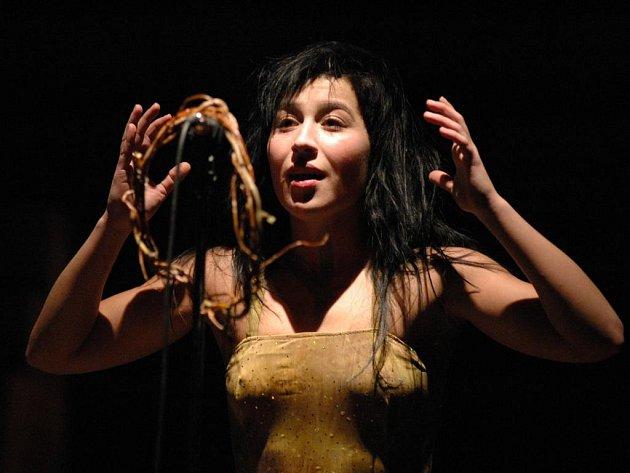 Letošní ročník Divadelní Flory nabídl i tříhodinové představení Divá Bára v podání uhe rskohradišťského Slováckého divadla.