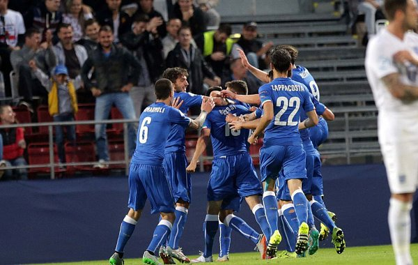 Gólová radost Italů. Euro U21 na Andrově stadionu vOlomouci