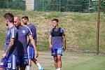 Fotbalová Sigma Olomouc zahájila přípravu na novou sezonu. David Vaněček a Antonín Růsek