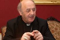 Arcibiskup olomoucký Jan Graubner