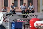 Zábavné odpoledne s hasiči a strážníky na Horním náměstí v Olomouci