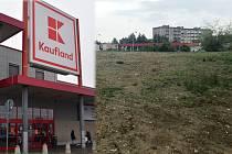 Na pozemku po bývalé výrobně firmy Milo v Hněvotínské ulici na okraji Olomouce se chystá stavba prodejny společnosti Kaufland