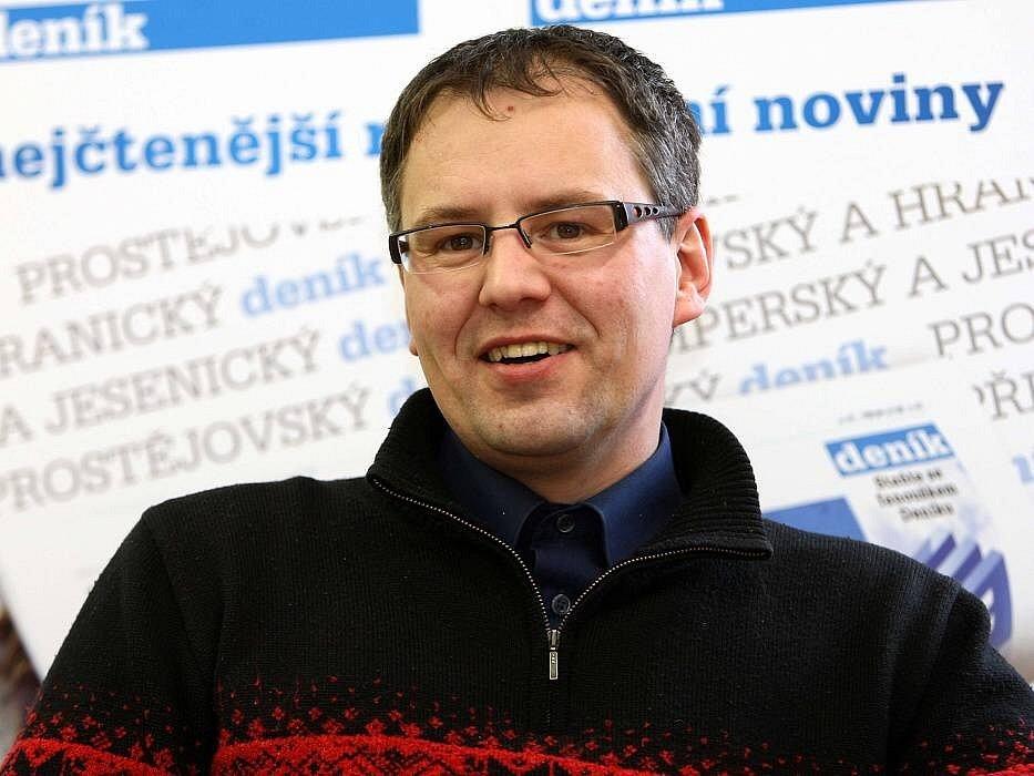 Ivo Kropáček v on-line rozhovoru pro Olomoucký deník