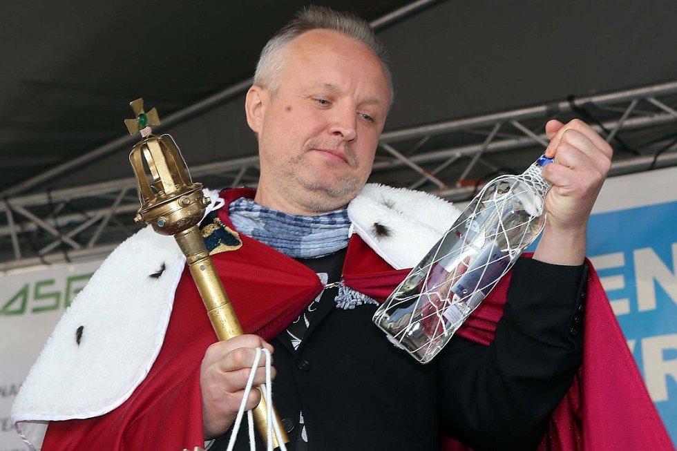Král Olomouckého majálesu Jaromír 99