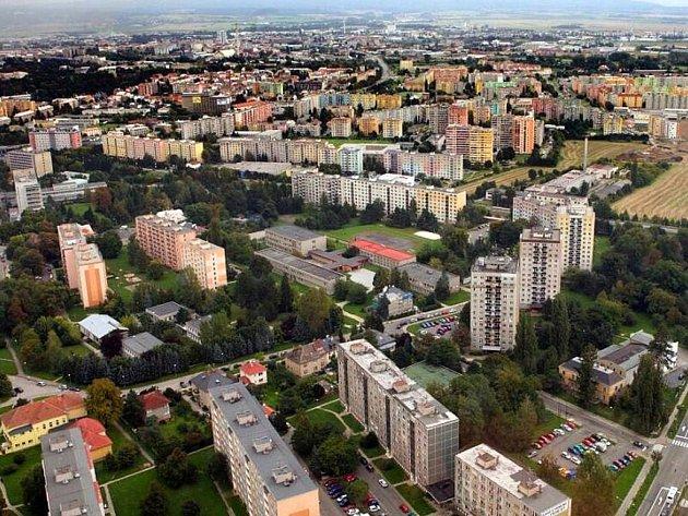 Olomouc z výšky. Ilustrační foto