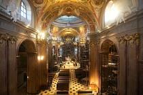 Rekonstrukce baziliky Navštívení Panny Marie na Svatém Kopečku u Olomouce, prosinec 2019