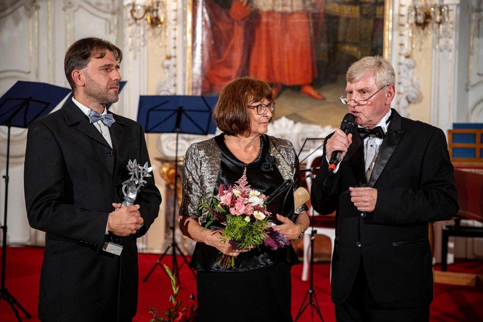 Předávání Cen města Olomouce v Arcibiskupském paláci 10. září 2020