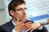 Filip Žáček při on-line rozhovoru se čtenáři Deníku