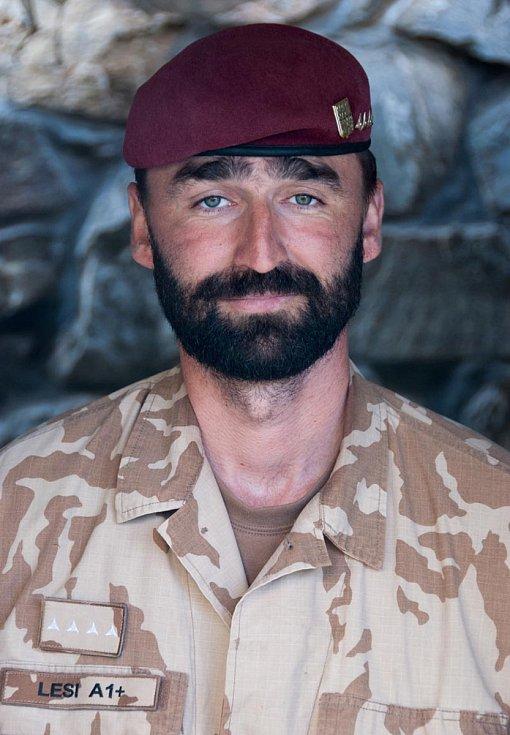 Jaroslav Lieskovan v Afghánistánu (léto 2009)