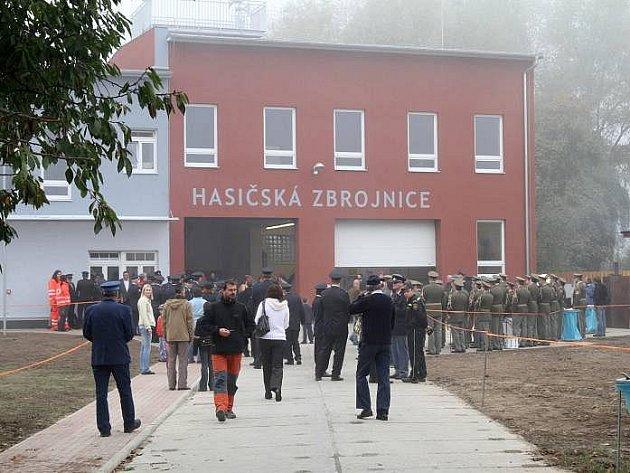 Nová hasičská zbrojnice vČernovíře