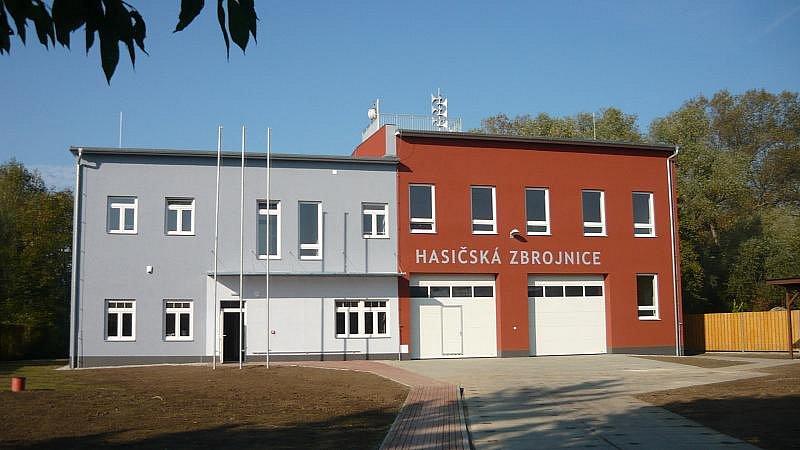 Nová hasičská zbrojnice v Černovíře