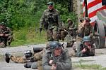 Ukázka bojů z osvobozování Olomouce na fortu v Radíkově