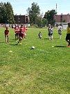 V Hodolanech proběhla v sobotu fotbalová exhibice mezi lokálním týmem FC Braník a starou gardou pražské Sparty.