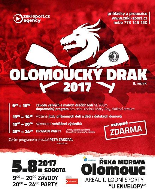 Olomoucký drak 2017mediální spolupráce