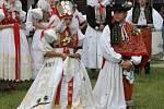 Hanácká svatba ve skanzenu v Příkazích