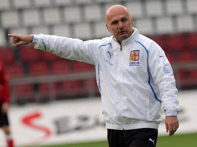 Kouč české reprezentace Michal Bílek