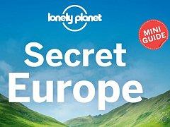 Titulní strana průvodce Lonely Planet, který mezi utajenými poklady Evropy na prvním místě zmiňuje Olomouc