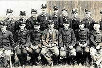 Sbor dobrovolných hasičů v červenci roku 1933