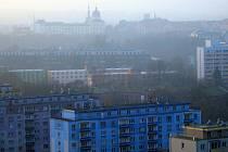 Inverze v Olomouci. Ilustrační foto
