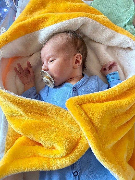 1000. miminko narozené v Nemocnici Šternberk v roce 2020. Malý Gabriel Falta přišel na svět v sobotu 28. listopadu.