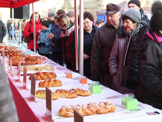 Soutěž o nejlepší vánočku na náměstí v Uničově